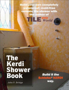 The Kerdi Shower Book cover page