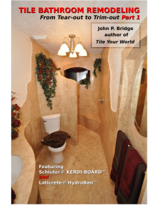 Tile Bathroom Remodeling Part 1 book cover