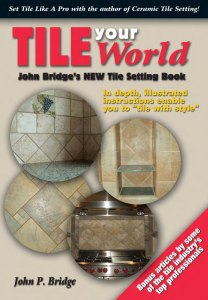 Tile Your World - New Tile Setting Book Cover image